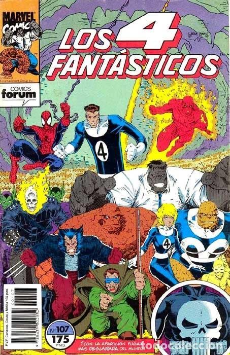 LOS 4 FANTÁSTICOS VOL.1 Nº 107 - FORUM. LOS NUEVOS 4 FANTASTICOS. ARTHUR ADAMS WALTER SIMONSON. (Tebeos y Comics - Forum - 4 Fantásticos)