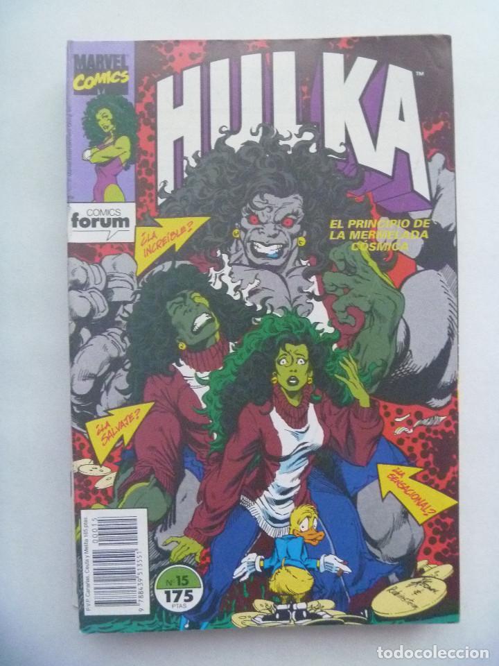 MARVEL COMIC : HULKA , Nº 15 (Tebeos y Comics - Forum - Otros Forum)