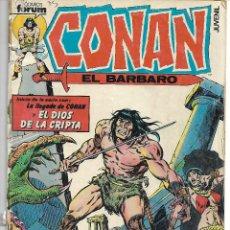 Cómics: CONAN EL BARBARO - 88 EJEMPLARES - POR NUMEROS SUELTOS PREGUNTAR. Lote 158835202
