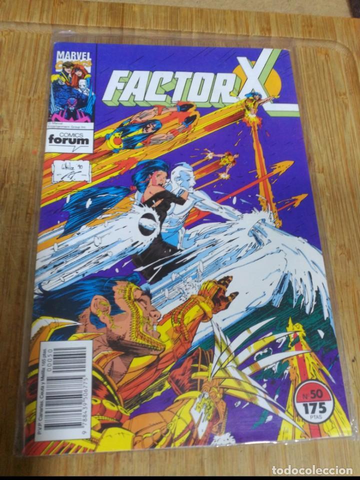 FACTOR X Nº 50 (Tebeos y Comics - Forum - Factor X)