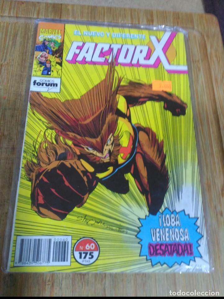 FACTOR X Nº 60 (Tebeos y Comics - Forum - Factor X)