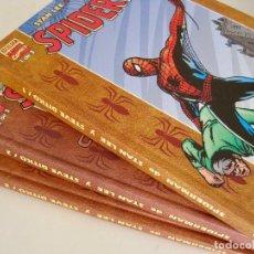 Cómics: SPIDERMAN DE STAN LEE STEVE DITKO--COLECCION COMPLETA 3 TOMOS FORUM MARVEL EXCELSIOR--NUEVOS. Lote 158891398