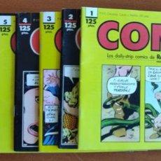 Cómics: CONAN DE 1 A 11 TIRAS DIARIAS COMICS FORUM. Lote 158894794