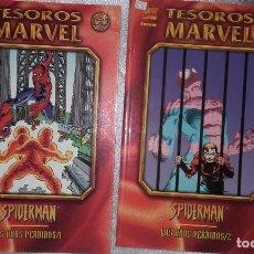 Cómics: SPIDERMAN, TESOROS MARVEL, LOS AÑOS PERDIDOS. 2 TOMOS. Lote 158910790