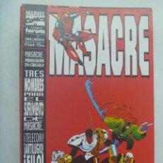 Cómics: MARVEL COMICS : MASACRE , Nº 3. Lote 158968874
