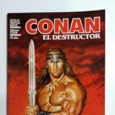 Cómics: NOVELAS GRÁFICAS MARVEL CONAN EL DESTRUCTOR FORUM . Lote 159000002