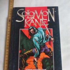 Cómics: SALOMON KANE OBRA COMPLETA. CONTIENE LOS VOLUMENES DEL 1 AL 7. OBRA COMPLETA COMIC FORUM . Lote 159050006