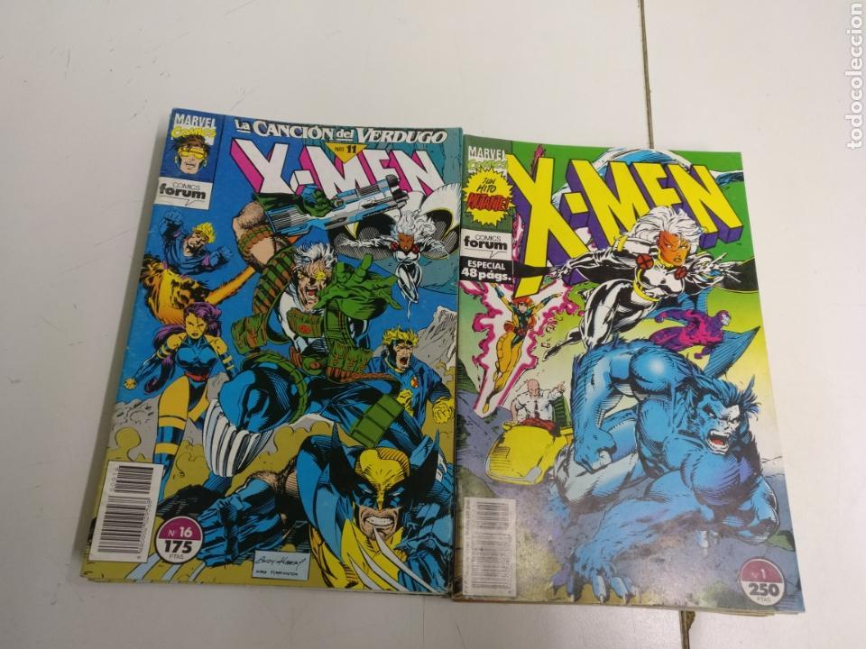 X-MEN VOL. 1 LOTE DE 16N° -8-9-12-13-14-16-18-20-22-25-27-28-30-31-33-37- (Tebeos y Comics - Forum - X-Men)