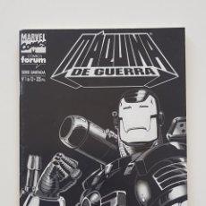 Cómics: MARVEL COMICS - MÁQUINA DE GUERRA VOL. 2 Nº 1 FORUM IRON MAN WAR MACHINE VENGADORES AÑOS 90. Lote 159126842