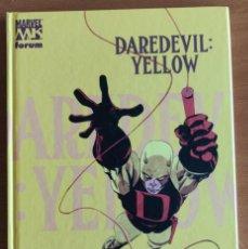 Comics : DAREDEVIL YELLOW - JEPH LOEB Y TIM SALE - MARVEL KNIGHTS - FORUM - TAPA DURA. Lote 159142670