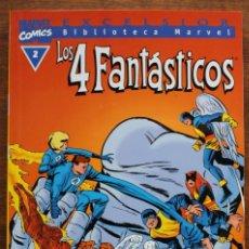 Fumetti: MARVEL COMICS- EXCELSIOR BIBLIOTECA MARVEL-LOS 4 FANTÁSTICOS - Nº 2-1999-NM. Lote 159215658