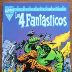 Fumetti: MARVEL COMICS- EXCELSIOR BIBLIOTECA MARVEL-LOS 4 FANTÁSTICOS - Nº1-1999-NM. Lote 159216102