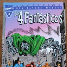 Fumetti: MARVEL COMICS- EXCELSIOR BIBLIOTECA MARVEL-LOS 4 FANTÁSTICOS - Nº3-1999-NM. Lote 159223202