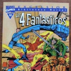 Fumetti: MARVEL COMICS- EXCELSIOR BIBLIOTECA MARVEL-LOS 4 FANTÁSTICOS - Nº12-1999-NM. Lote 159223894