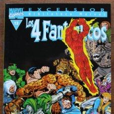 Fumetti: MARVEL COMICS- EXCELSIOR BIBLIOTECA MARVEL-LOS 4 FANTÁSTICOS - Nº13-2000-NM. Lote 159224034