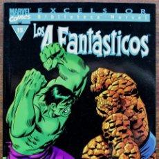 Fumetti: MARVEL COMICS- EXCELSIOR BIBLIOTECA MARVEL-LOS 4 FANTÁSTICOS - Nº15-2000-NM. Lote 159224166