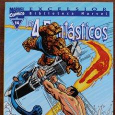 Fumetti: MARVEL COMICS- EXCELSIOR BIBLIOTECA MARVEL-LOS 4 FANTÁSTICOS - Nº14-2000-NM. Lote 159224374