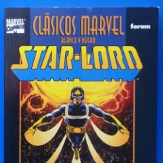 Cómics: STARLORD CLASICOS MARVEL B/N / FORUM COMICS / STAR-LORD BLANCO Y NEGRO / CLAREMONT BYRNE INFANTINO. Lote 159281094