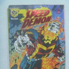Cómics: MARVEL COMICS : SPEED DEMON , Nº 1. Lote 159297738