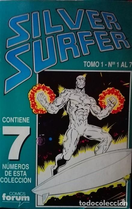 SILVER SURFER FORUM TOMO VOL 2 NºS 1 AL 7 (Tebeos y Comics - Forum - Silver Surfer)