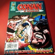 Cómics: DE KIOSCO CONAN EL BARBARO 27 FANTASIA HEROICA FORUM ROY THOMAS. Lote 159365665