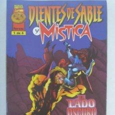 Cómics: MARVEL COMICS : DIENTES DE SABLE Y MISTICA , Nº 1. Lote 159424938