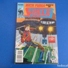 Cómics: CÓMIC DE NICK FURIA AGENTE DE SHIELD AÑO 1990 Nº 7 DE COMICS FORUM LOTE 6 C. Lote 159495146