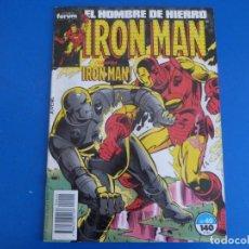Comics : CÓMIC DE IRON MAN AÑO 1988 Nº 40 DE COMICS FORUM LOTE 14 I. Lote 159496514