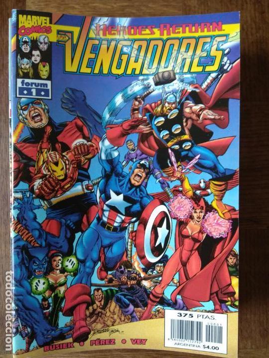 LOS VENGADORES LOTE AVANZADO V.3 DEL Nº 1 AL 46 - FORUM MARVEL COMICS VOLUMEN V3- (Tebeos y Comics - Forum - Vengadores)