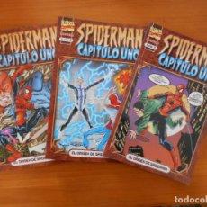 Cómics: SPIDERMAN - CAPITULO UNO COMPLETA - 3 TOMOS - EL ORIGEN DE SPIDERMAN - MARVEL - FORUM (9N). Lote 159617662