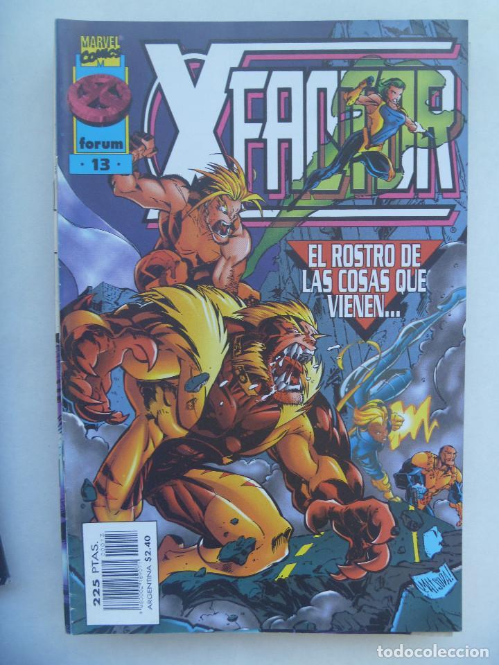 MARVEL COMICS : FACTOR X , Nº 13, EL ROSTRO DE LAS COSAS QUE VIENEN (Tebeos y Comics - Forum - Factor X)