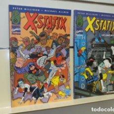 Cómics: X-STATIX 2 TOMOS LO PUBLICADO POR LA EDITORIAL - FORUM OFERTA. Lote 159732722