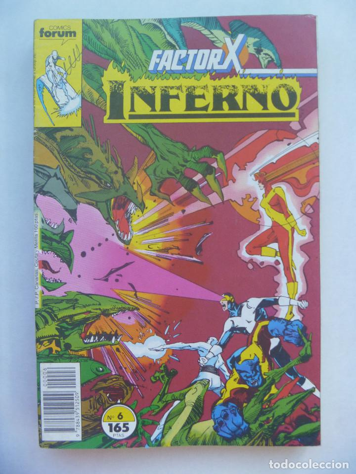 MARVEL COMICS : FACTOR X , Nº 6, INFERNO (Tebeos y Comics - Forum - Factor X)