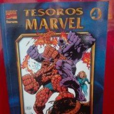Cómics: TESOROS MARVEL LOS 4 F LOS AÑOS PERDIDOS 1# E2. Lote 159760450