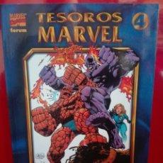 Cómics: TESOROS MARVEL LOS 4 F LOS AÑOS PERDIDOS 1# E2. Lote 159760734
