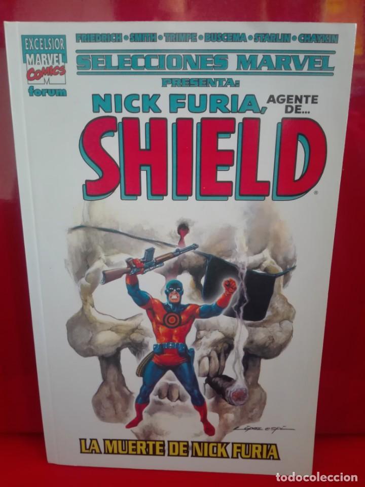 SELECCIONES MARVEL NICK FURIA AGENTE DE SHIELD# E2 (Tebeos y Comics - Forum - Prestiges y Tomos)