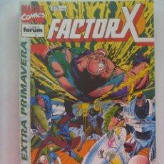 Cómics: MARVEL COMICS : FACTOR X , EXTRA DE PRIMAVERA. Lote 159765378