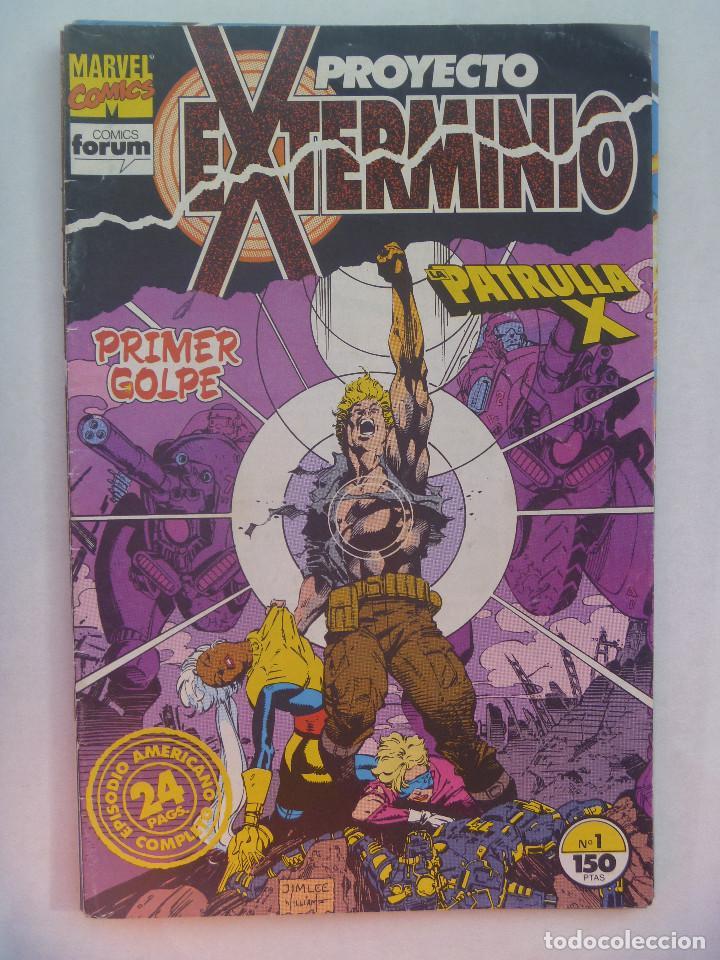 MARVEL COMICS : PROYECTO EXTERMINIO , Nº 1 , LA PATRULLA X (Tebeos y Comics - Forum - Patrulla X)