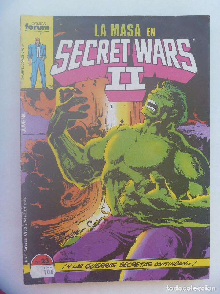 MARVEL COMICS : LA MASA EN SECRET WARS II , Nº 23 (Tebeos y Comics - Forum - Hulk)