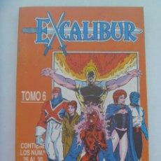Cómics: MARVEL COMICS : EXCALIBUR , TOMO 6 . ALBUM DE 5 NUMEROS. Lote 159822102