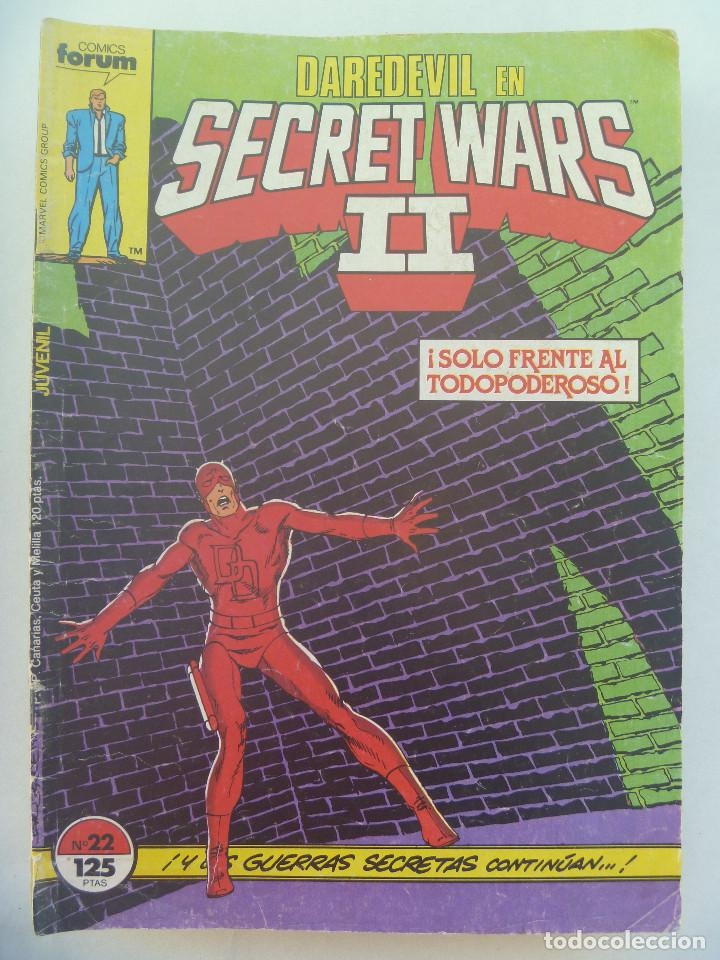 MARVEL COMICS : DAREDEVIL EN SECRET WARS II , Nº 22 (Tebeos y Comics - Forum - Daredevil)