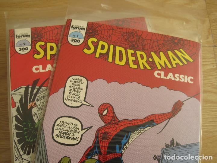 SPIDERMAN CLASSIC--COMPLETA--16 NÚMEROS-NUEVA--COMICS FORUM MARVEL PLANETA (Tebeos y Comics - Forum - Spiderman)
