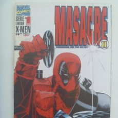 Cómics: MARVEL COMICS : X MEN , MASACRE II , Nº 1. Lote 159908310
