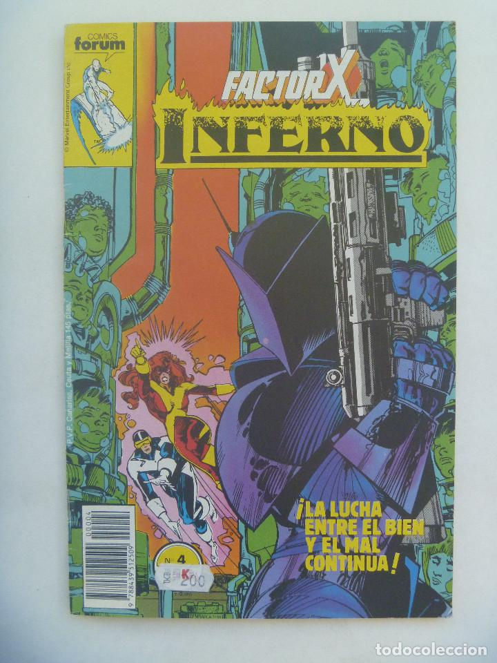 MARVEL COMICS : FACTOR X , Nº 4, INFERNO (Tebeos y Comics - Forum - Factor X)