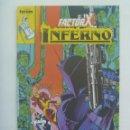 Cómics: MARVEL COMICS : FACTOR X , Nº 4, INFERNO. Lote 159919770