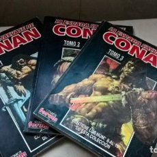 Cómics: COMICS. LA ESPADA SALVAJE DE CONAN. TOMOS 1, 2 Y 3. COLECCION COMPLETA (ABLN). Lote 160055650