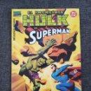 Cómics: COMICS FORUM EL INCREÍBLE HULK VS. SUPERMAN. Lote 160145417