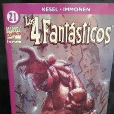 Comics : LOS 4 FANTASTICOS 21 VOL. 4 # L. Lote 160221654