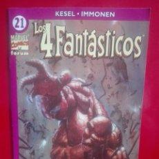 Cómics: LOS 4 FANTASTICOS 21 VOL. 4 # L. Lote 244641300