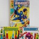 Cómics: LOS VENGADORES, COMICS FORUM, NÚMEROS 11, 12 Y 13 (1ª EDICIÓN). Lote 160327750